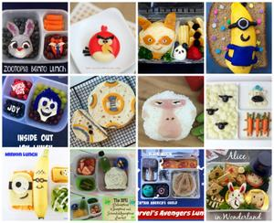 12 School Lunch Ideas Inspired by Family Movies