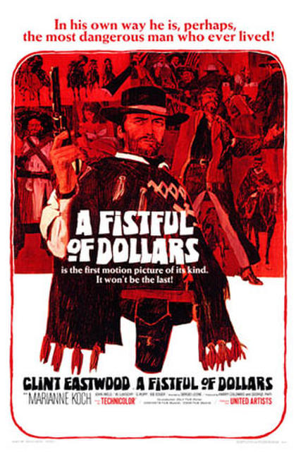 A Fistful of Dollars / For a Few Dollars More Photos + Posters