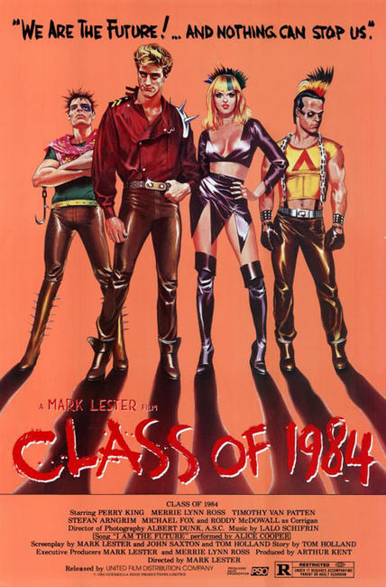 Alamo Drafthouse & Fandango Present – The Summer of 1982: Class of 1984 Photos + Posters
