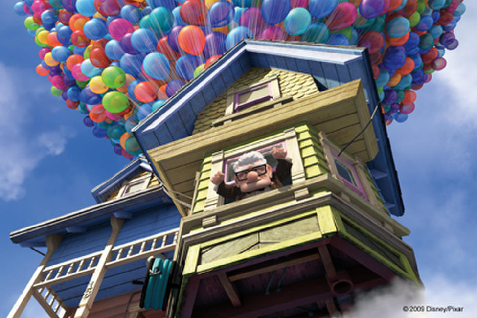 Up in Disney Digital 3D Photos + Posters