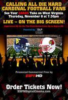 ESPN: Louisville Cardinals vs. West Virginia Mountaineers