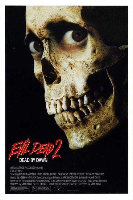 Double Feature: Evil Dead II and Army of Darkness Photos + Posters