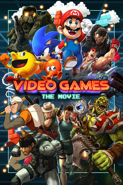 Video Games: The Movie Photos + Posters