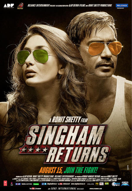 Singham Returns Photos + Posters