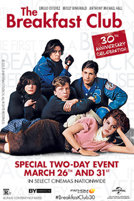 The Breakfast Club 30th Anniversary Photos + Posters