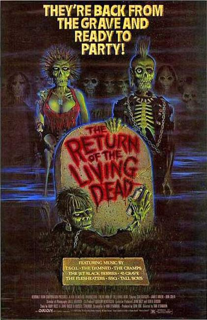 Return of the Living Dead / Night of the Creeps Photos + Posters
