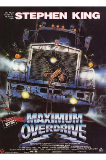 CHRISTINE/MAXIMUM OVERDRIVE Photos + Posters