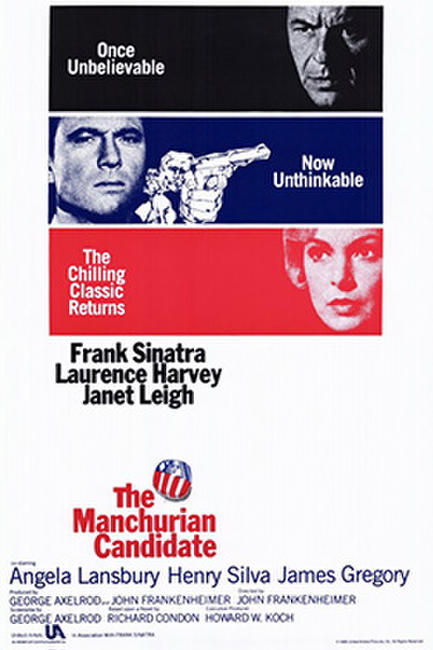 THE MANCHURIAN CANDIDATE/ THE MAN WITH THE GOLDEN Photos + Posters