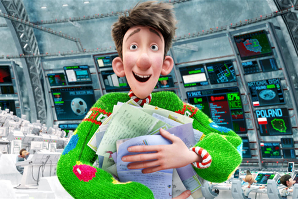 Arthur Christmas Photos + Posters