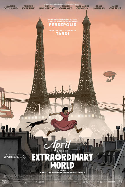 April and the Extraordinary World Photos + Posters