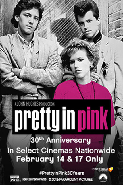 Pretty in Pink 30th Anniversary Photos + Posters