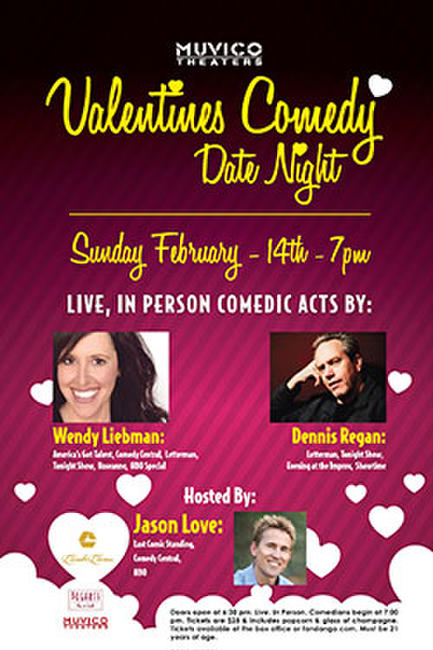 Valentine's Comedy Date Night Photos + Posters