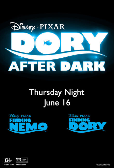 Dory After Dark 3D Photos + Posters
