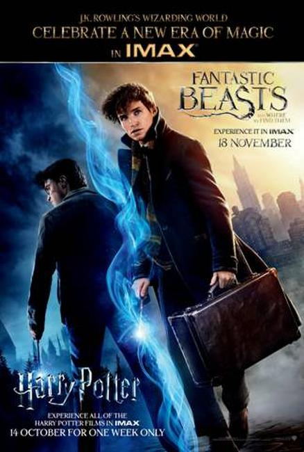 IMAX: Harry Potter Event Pass Photos + Posters
