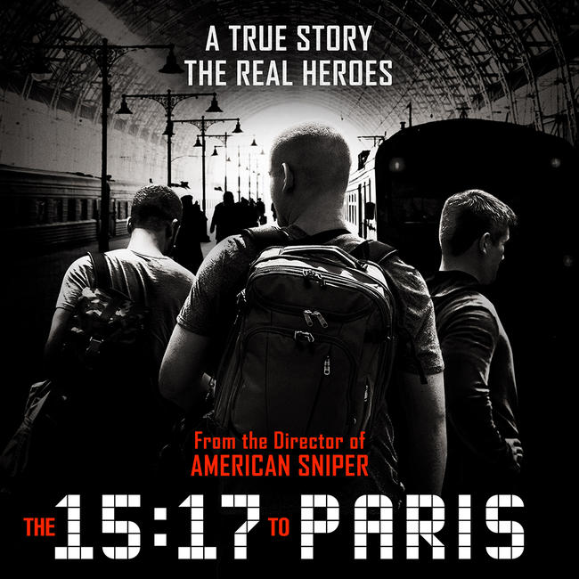 The 15:17 to Paris Photos + Posters