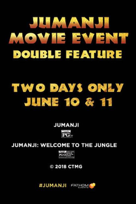 Jumanji Movie Event Photos + Posters
