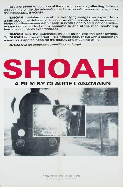 Shoah: Part 1 Photos + Posters