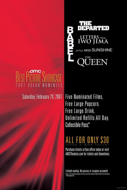AMC Best Picture Showcase: 2007 Oscar® Nominees Photos + Posters
