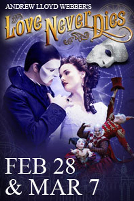 Andrew Lloyd Webber's Love Never Dies Photos + Posters
