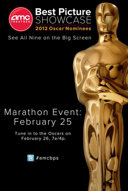 AMC Best Picture Showcase: 2012 Oscar® Nominees – Marathon Photos + Posters