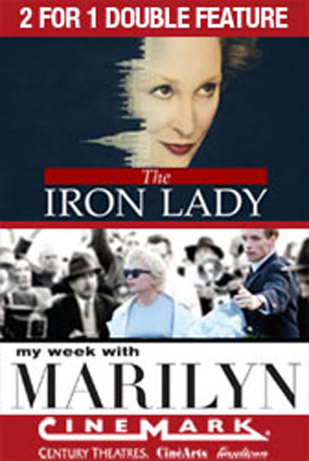 2 for 1 - Iron Lady / My Week with Marilyn Photos + Posters
