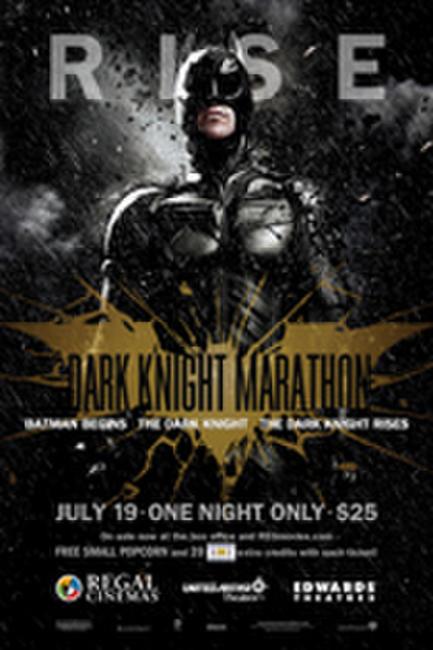 Regal's Dark Knight Marathon Photos + Posters