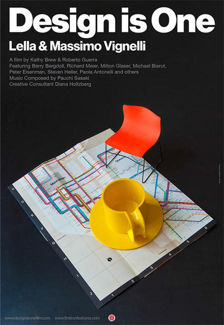 Design Is One: Lella & Massimo Vignelli Photos + Posters