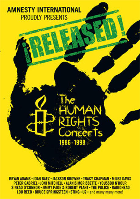 ¡RELEASED! The Human Rights Concerts / Light A Candle Photos + Posters