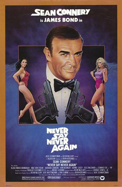 Never Say Never Again / The Rock Photos + Posters