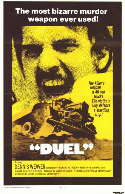 DUEL / THE CAR Photos + Posters