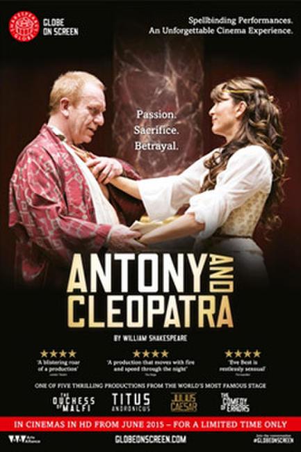 GLOBE ON SCREEN: ANTONY AND CLEOPATRA Photos + Posters