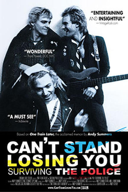 Can't Stand Losing You: Surviving The Police Photos + Posters