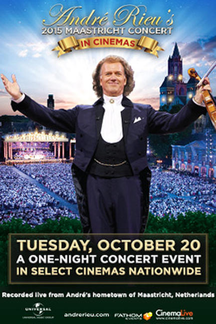 Andre Rieu's 2015 Maastricht Concert Photos + Posters