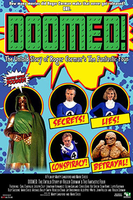 Doomed: The Untold Story of Roger Corman's The Fantastic Four Photos + Posters