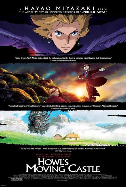 Howl's Moving Castle / Castle in the Sky Photos + Posters