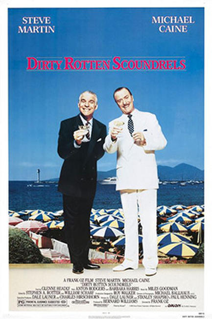 DIRTY ROTTEN SCOUNDRELS / CRIMES AND MISDEMEANORS Photos + Posters