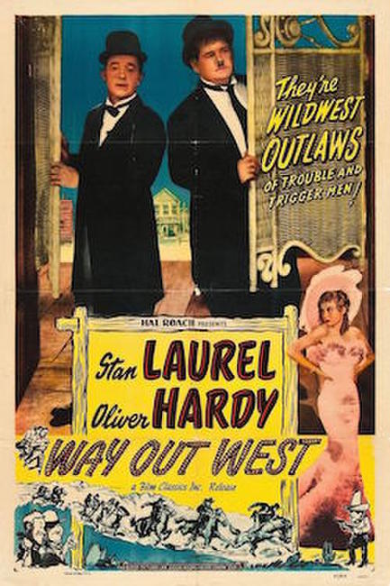 Restored Laurel and Hardy, Volume 3/Way Out West Photos + Posters