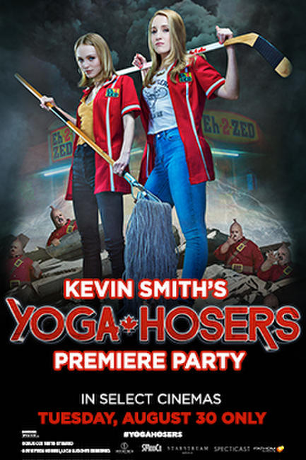 Kevin Smith's Yoga Hosers Premiere Party Q&A Photos + Posters