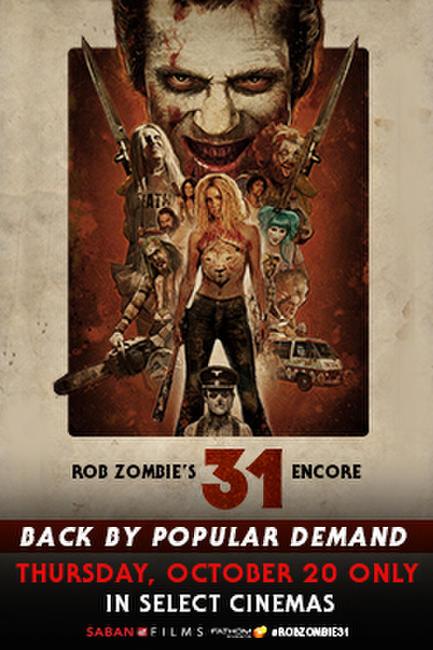 Rob Zombie's 31 Photos + Posters