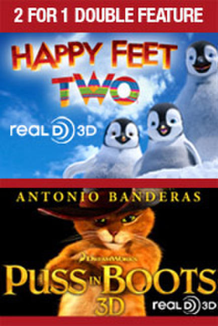 2 For 1 - Happy Feet Two / Puss In Boots Photos + Posters