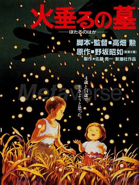 Grave Of Fireflies / Ocean Wave Photos + Posters