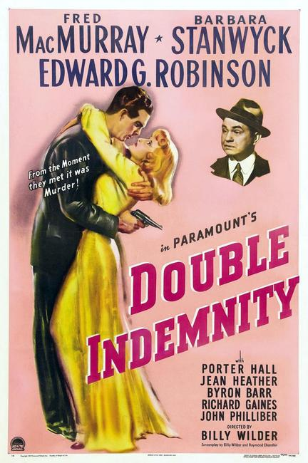 Double Indemnity / The Bitter Tea of General Yen Photos + Posters