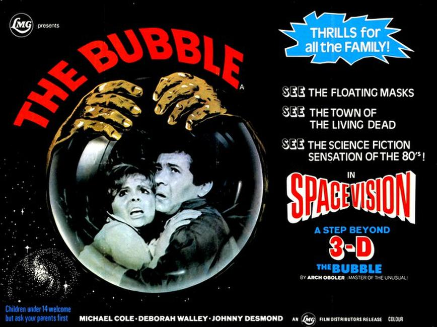 The Bubble 3D (1966) Photos + Posters