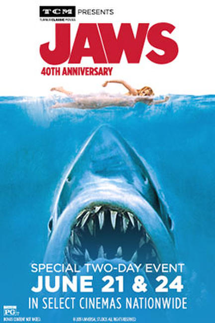 TCM presents Jaws 40th Anniversary Photos + Posters