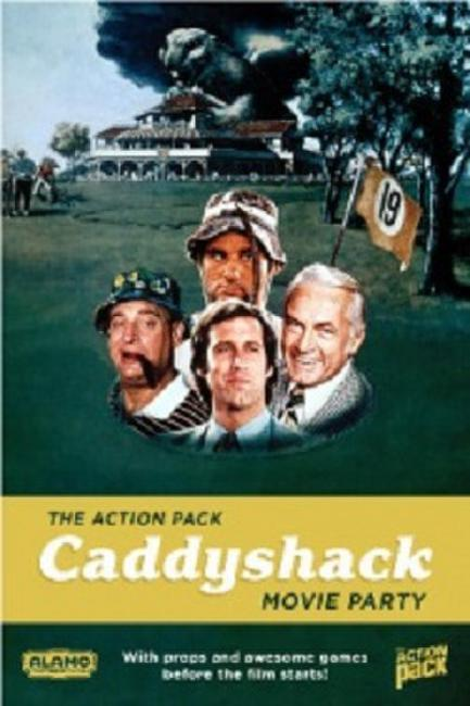 Action Pack: The Caddyshack Movie Party Photos + Posters