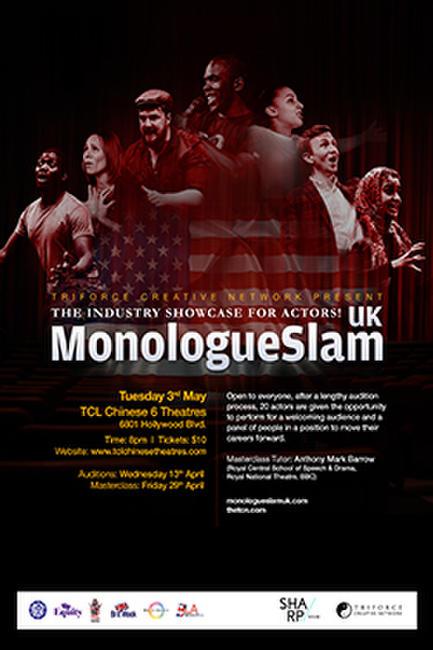 TCN Presents MonologueSlam UK - LA Edition Photos + Posters