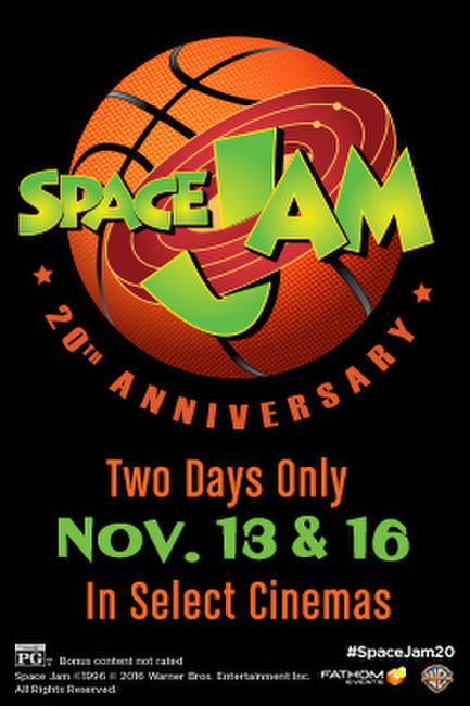 Space Jam 20th Anniversary Photos + Posters
