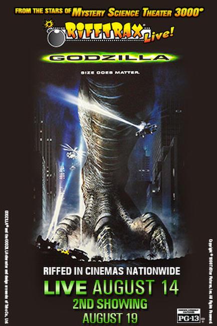 Rifftrax Live: Godzilla Photos + Posters