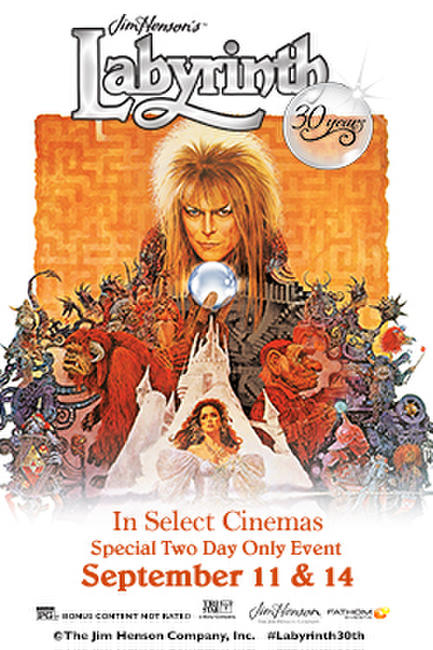 Labyrinth 30th Anniversary Photos + Posters