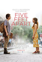 Five Feet Apart showtimes and tickets